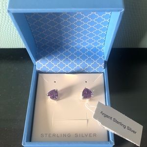 Chateau Montreal Sterling Silver Stud Earrings
